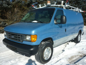 2007 Ford E-250 Cargo Van SHELVING/ROOF RACK/PARTITION/INSULATED