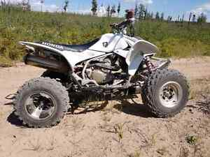 Trade sport bike and race quad for car or suv