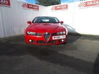 200 56 ALFA ROMEO BRERA 2.2 JTS SV IN BRIGHT RED.AMAZING LOOKING CAR.S/HISTORY .