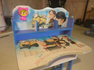 Selling Kids Study Table with despicable me 2 design
