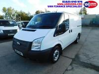 FORD TRANSIT 2.2TDCi 100PS T300S LOW ROOF SWB AIR CON+PARKING SENSORS+RACKING