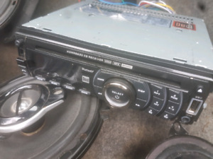 Assorted Car Speakers and Stereo
