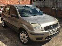 2003 Ford Fusion 1.4 TDCi 2 Hatchback 5dr Diesel Manual (116 g/km, 67 bhp)