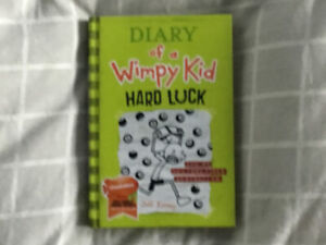 "Hardcover Diary of a Wimpy Kid ""Hard Luck-8"" book"