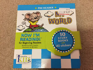 Now I am reading -pre reader - My World