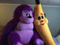 Stuffed Toys Monkey & Banana