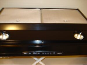 BROAN ALLURE 3 RANGEHOOD MODEL QS330BLN (BLACK )