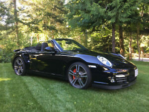 2010 Porsche 911 Convertible Twin Turbo