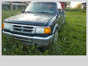 1995 Ford Ranger 4x4 with locking hubs