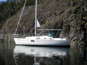 Sailboat charter in Nanaimo  BC
