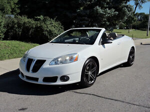2007 Pontiac G6 GT Convertible **with upgrades / extras**