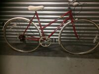PEUGEOT LADIES BIKE RED SIZE 51CM