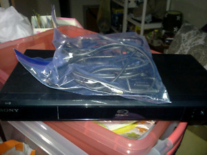 Sony Bluray player with remote