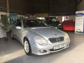 2005 55 Mercedes-Benz C220 2.1TD CDI SE,Leather Trim