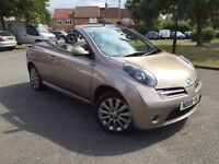 Nissan Micra Convertible 2008 *Fully Loaded ... heated seats, leather, Aux*