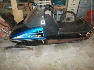 VINTAGE 1970'S SNOWMOBILE