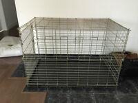 cage très large pour gros chien