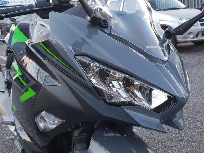 Kawasaki Ninja 400 Pearl Storm Grey 2019 Model | in Orrell, Manchester |  Gumtree