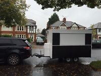 Burger van and pitch site in Cardiff