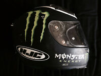 Monster RPS10 Helmet + Icon Jacket