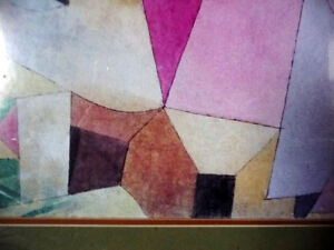 """Lithograph by Paul Klee """"Black Columns In A Landscape"""" 1919 Stratford Kitchener Area image 7"""