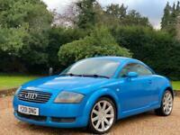 2001 Audi TT 1.8T 225 BAM 270BHP ++ KING FISHER BLUE RARE ++ DECAT MODIFIED