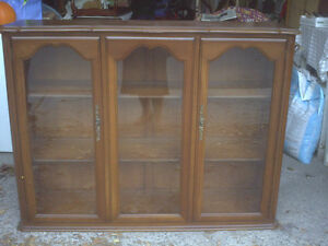 GIBBARD TWO PIECE CHINA CABINET