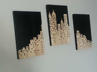 Wooden Wall Piece