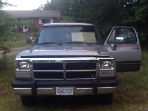 1991 Dodge Ram Charger package
