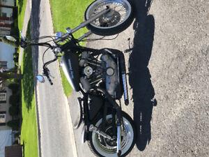 1991 Custom HD bobber
