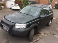 Left Hand Drive Land Rover Freelander 2003 TD4 Diesel LHD not Toyota Honda Jeep Nissan