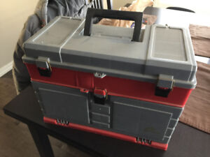 Like brand new stacking drawer tool box chest