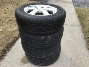 Honda Rims and Summer Tires set of 4