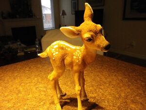 """*Country Artists, hand painted porcelain Bambi....11.5"""" high..."""