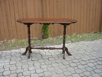 RARE BELLE TABLE CONSOLLE BOIS MASSIF STYLE ANTIQUE