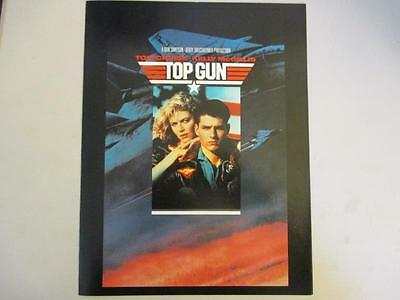 "Original Movie Theater Lobby Card ~ ""Top Gun"" Tom Cruise & Kelly McGillis"