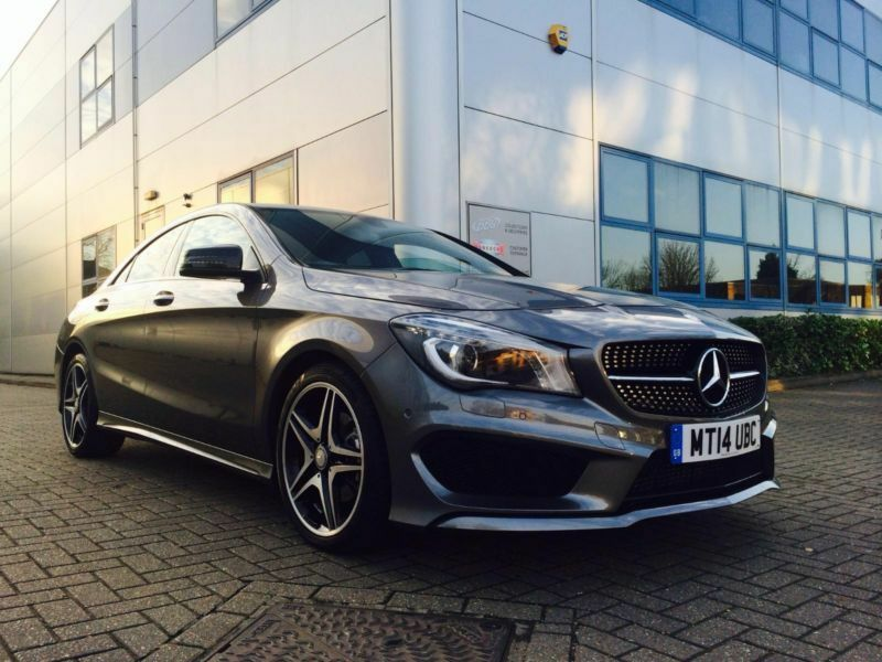 2014 14 reg mercedes benz cla 200 cdi amg sport grey. Black Bedroom Furniture Sets. Home Design Ideas