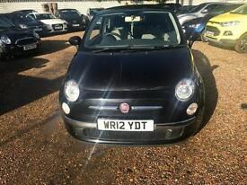 2012 Fiat 500 1.2 Lounge 3dr (start/stop)