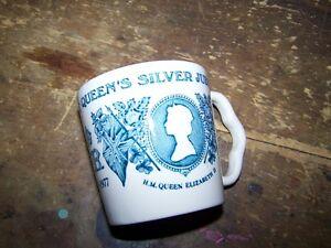 Small Mason's The Royal Silver Jublilee Mug H.M. Queen Elizabeth