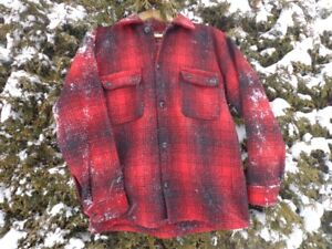 100% Wool Made-in-Canada Men's Jacket