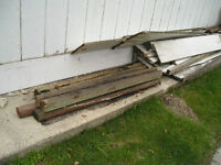 FREE USED WOOD FENCE BOARDS