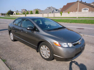 2006 Honda Civic Dx Sedan Comes With Sefty E Test