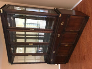 Gorgeous solid cherry wood China Cabinet