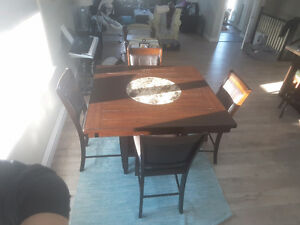 Pub Style Table plus 4 chairs
