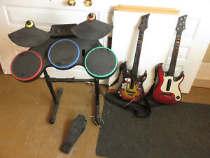 Ensemble/Kit Guitar Hero PS3