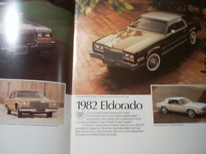 1982 Cadillac sales brochure Peterborough Peterborough Area image 3