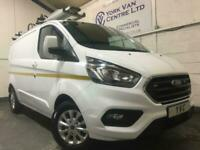 2019 19 FORD TRANSIT CUSTOM 300 LIMITED L1H1 EURO 6 WITH RACKING ONLY 4,237 MILE