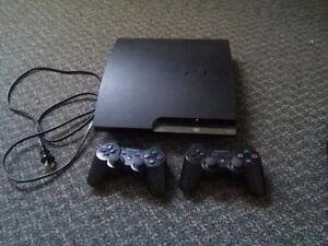 PlayStation 3, games, 2 controllers