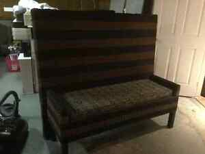 Head board and bench