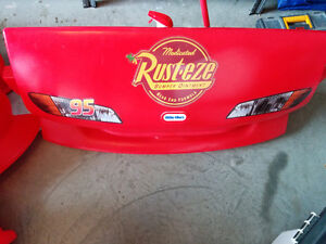 ***SOLD***Kids Twin Lightning McQueen Bed***SOLD***
